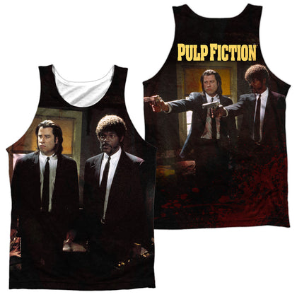 Pulp Fiction Vincent And Jules (Front/Back Print) Men's Regular Fit Polyester Tank Top