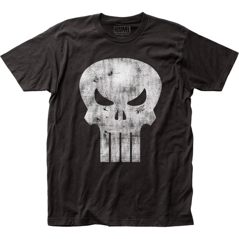 Punisher Distressed Logo fitted jersey tee - Men's - 100% Cotton