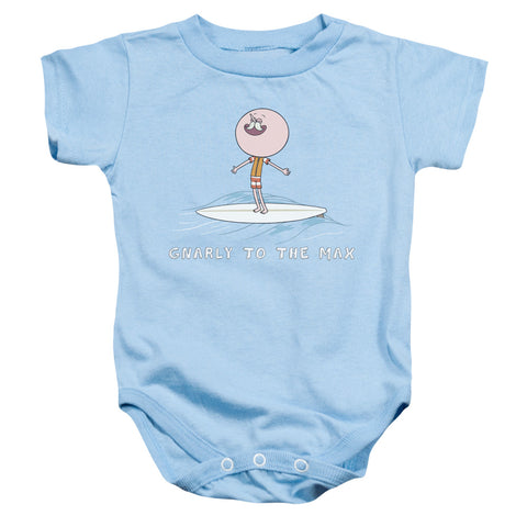 Regular Show Gnarly Infant's Cotton SS Snapsuit