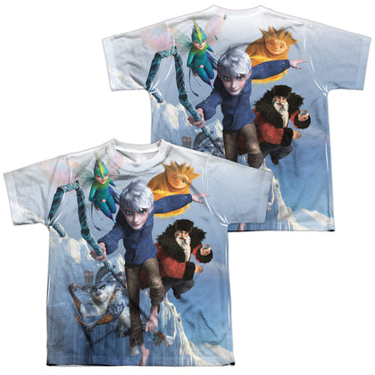 Rise Of The Guardians Together Now (Front/Back Print) Youth Regular Fit Poly SS T