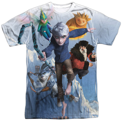 Rise Of The Guardians Together Now Men's Regular Fit Polyester SS T