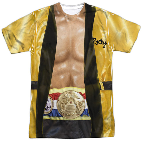 Rocky Yellow Robe Men's Regular Fit Polyester SS T