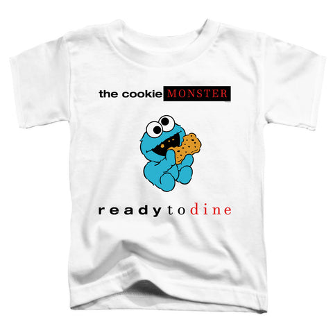 Sesame Street Ready To Dine Toddler 18/1 Cotton SS T