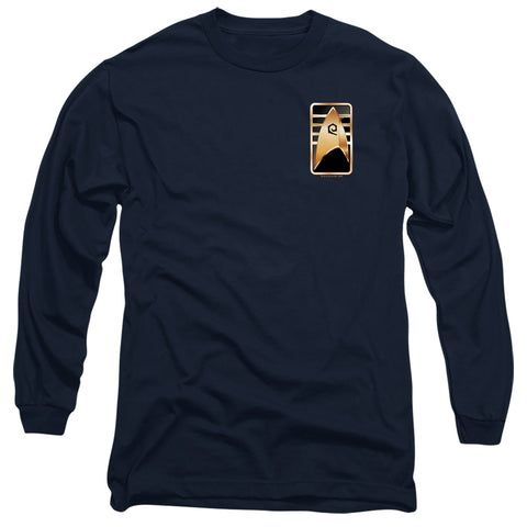 Star Trek Cadet Badge Men's 18/1 Cotton LS T
