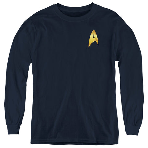 Star Trek Command Badge Youth LS T