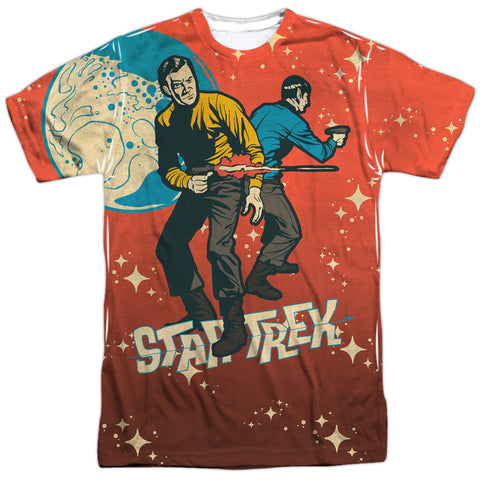 Star Trek Teamwork Men's Regular Fit Polyester SS T