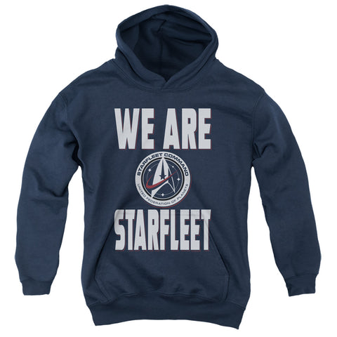 Star Trek We Are Starfleet Youth Cotton Poly Pull-Over Hoodie