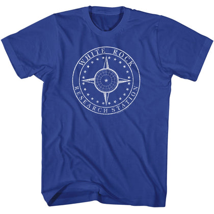 Stargate Special Order White Rock Research Adult S/S T-Shirt