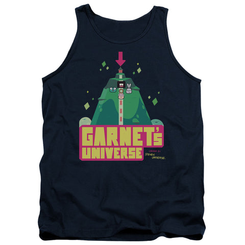 Steven Universe Garnets Universe Men's 18/1 Cotton Tank Top