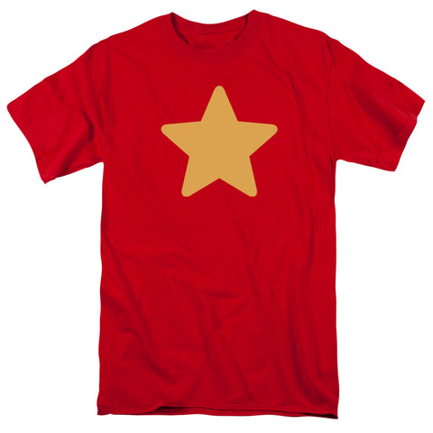 Steven Universe Star Men's 18/1 Cotton SS T