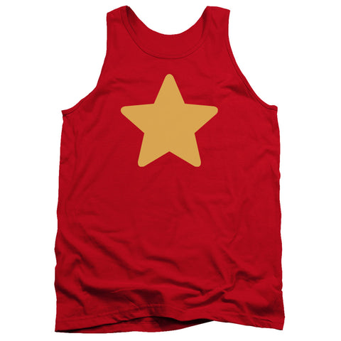 Steven Universe Star Men's 18/1 Cotton Tank Top