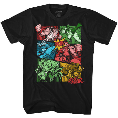 Street Fighter Special Order Comic Adult S/S T-Shirt
