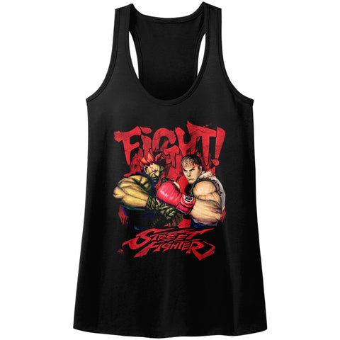 Street Fighter Special Order Fight! Ladies  Racerback