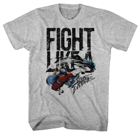 Street Fighter Special Order Fight Like A Adult S/S T-Shirt