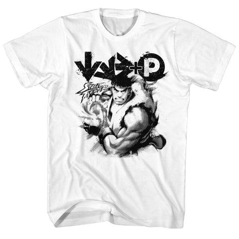 Street Fighter Special Order Hadouken Adult S/S T-Shirt