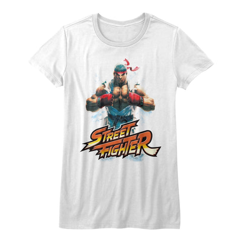 Street Fighter Special Order Ryu Juniors S/S T-Shirt