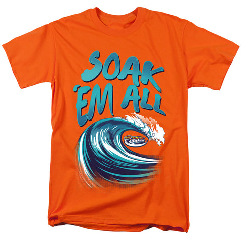 Super Soaker Soak Em All Men's 18/1 Cotton SS T