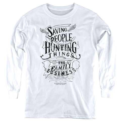 Supernatural Family Business Youth LS T
