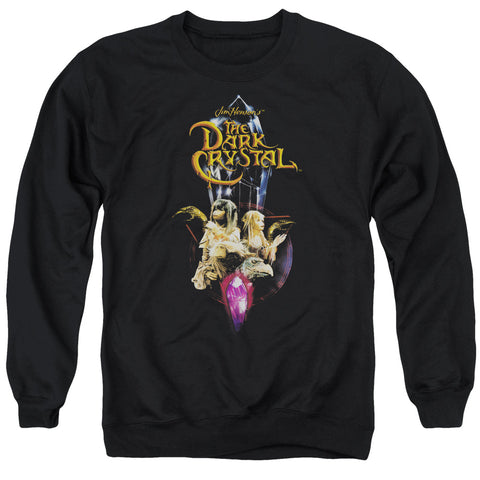 The Dark Crystal Crystal Quest Men's Crewneck 50 50 Poly LS T