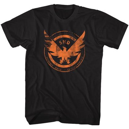 The Division Special Order Agent Shield Adult S/S T-Shirt