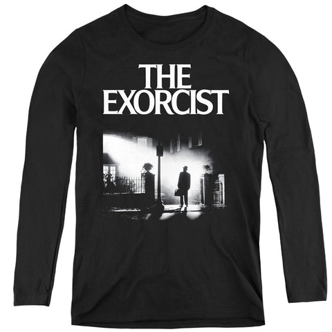 The Exorcist Poster Women's LS T