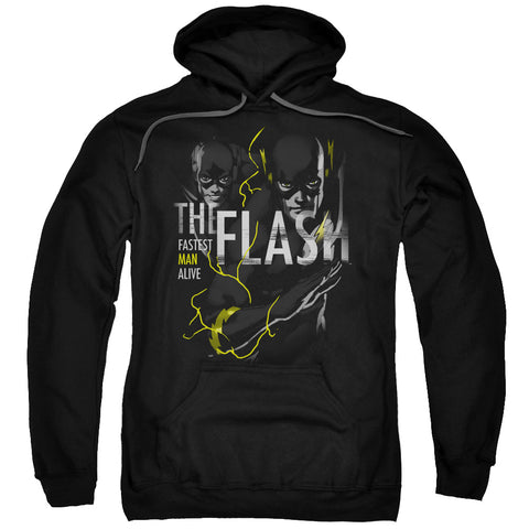 The Flash Bold Flash Men's Pull-Over 75 25 Poly Hoodie