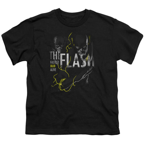 The Flash Bold Flash Youth 18/1 100% Cotton SS T
