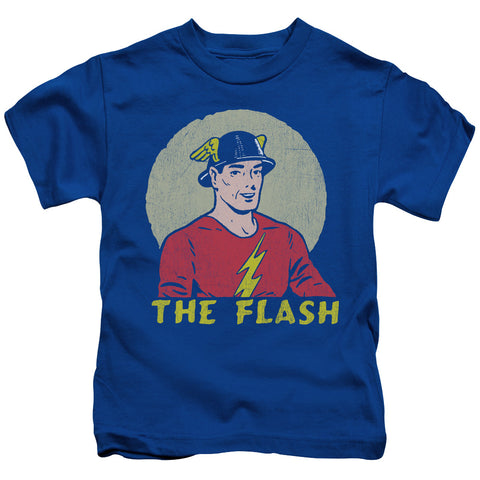 The Flash Faded Circle Juvenile 18/1 Cotton SS T