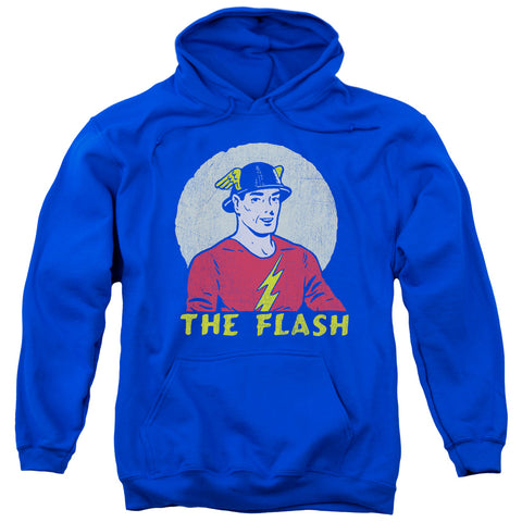 The Flash Faded Circle Men's Pull-Over 75 25 Poly Hoodie