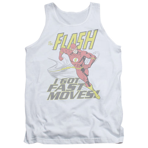 The Flash Fast Moves Men's 18/1 Cotton Tank Top