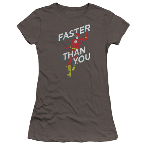 The Flash Faster Than You Ultra-Soft Junior's 30/1 Cotton Cap-Sleeve T