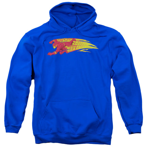 The Flash Fastest Man Alive Men's Pull-Over 75 25 Poly Hoodie