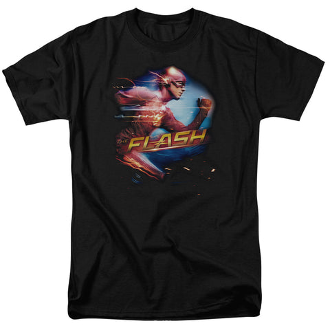 The Flash Fastest Man Men's 18/1 Cotton SS T
