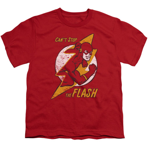 The Flash Flash Bolt Youth 18/1 100% Cotton SS T