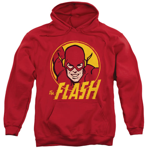The Flash Flash Circle Men's Pull-Over 75 25 Poly Hoodie
