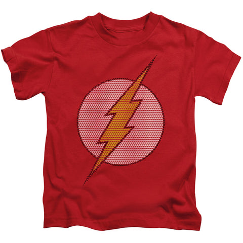 The Flash Flash Little Logos Juvenile 18/1 Cotton SS T
