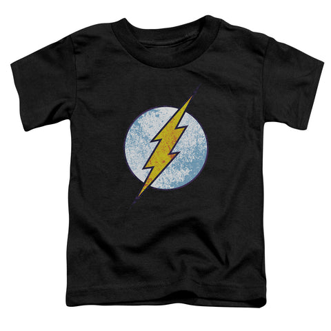 The Flash Flash Neon Distress Logo Toddler 18/1 Cotton SS T