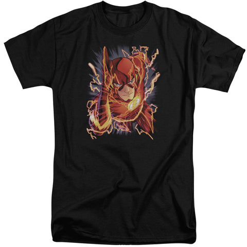 The Flash Flash #1 Men's 18/1 Tall Cotton SS T