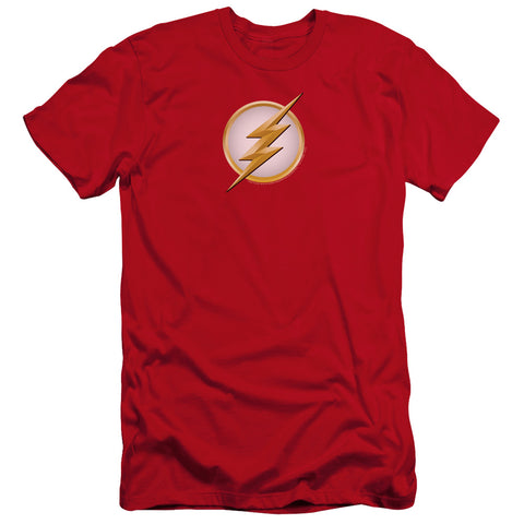 The Flash New Logo Men's Ultra-Soft 30/1 Cotton Slim SS T