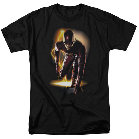 The Flash Ready Men's 18/1 Cotton SS T