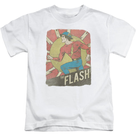 The Flash Tattered Poster Juvenile 18/1 Cotton SS T