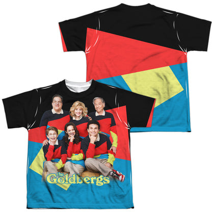 The Goldbergs Family Photo (Front/Back Print) Youth Regular Fit Poly SS T