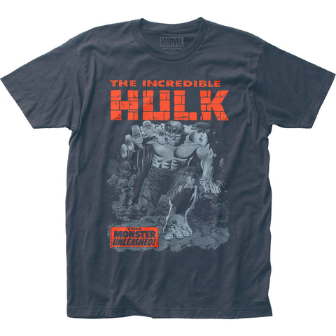 The Incredible Hulk Breakthrough fitted jersey tee - Men's - 100% Cotton