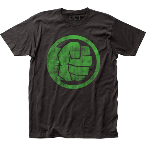 The Incredible Hulk Fist Bump fitted jersey tee - Men's - 100% Cotton