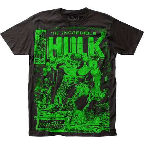 The Incredible Hulk Monster Unleashed big print subway tee - Men's - 100% Cotton