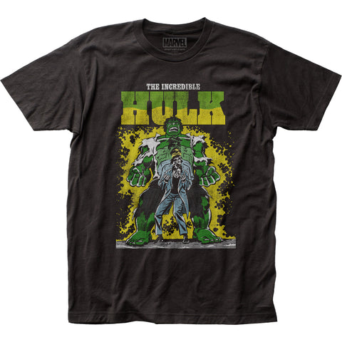 The Incredible Hulk Transforming fitted jersey tee - Men's - 100% Cotton