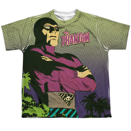 The Phantom Phantom Island Youth Regular Fit Poly SS T