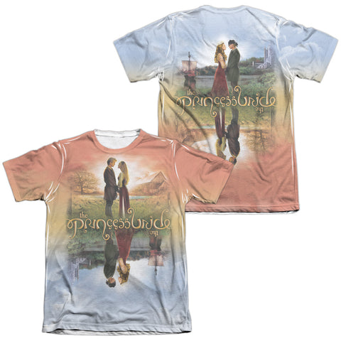 The Princess Bride Poster Sub (Front/Back Print) Men's Regular Fit Poly Cotton SS T