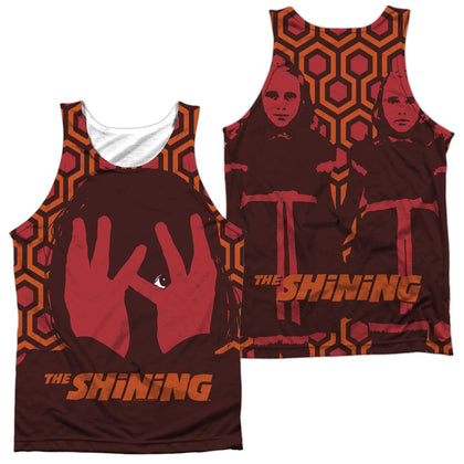The Shining Hallway (Front/Back Print) Men's Regular Fit Polyester Tank Top