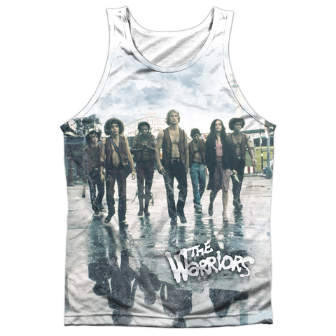 The Warriors Strolling Men's Regular Fit Polyester Tank Top